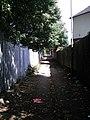 Public footpath, Hunts Cross.JPG