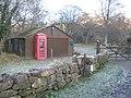 Public phone box, Clifford Farm - geograph.org.uk - 1095813.jpg