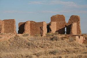 Pueblo Pintado, New Mexico - Image: Pueblo Pintado ancestral puebloan great house
