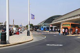 Fuerteventura Airport - Terminal exterior