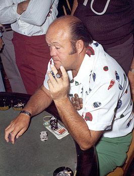 Pearson tijdens de World Series of Poker 1974
