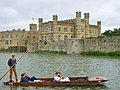 Punting at Leeds Castle.JPG