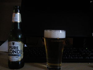 Pure Blonde - Image: Pure Blonde Lager
