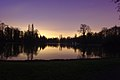Purple hour over the lake in Schlossgarten Schwetzingen - panoramio.jpg