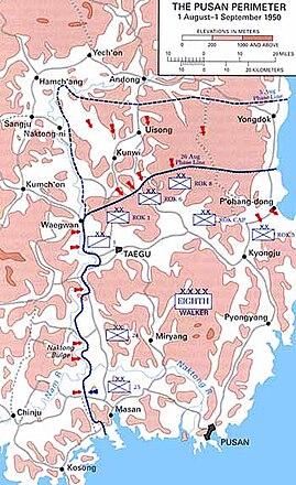 Battle Of Pusan Perimeter Wikipedia