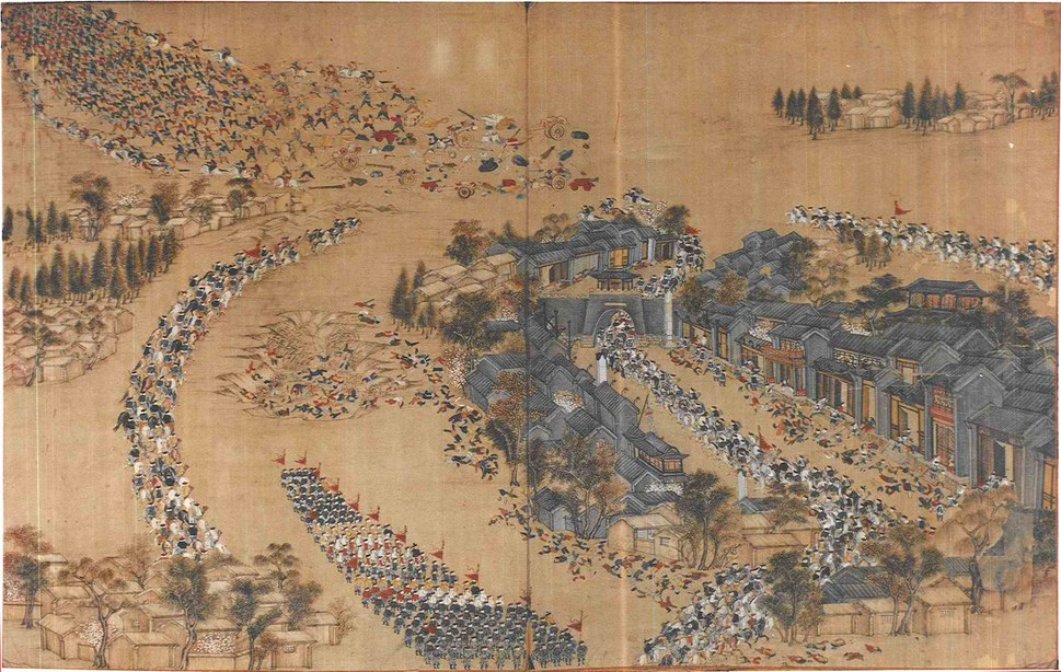 Qing ambush Taiping Army at Wangjiakou 1854