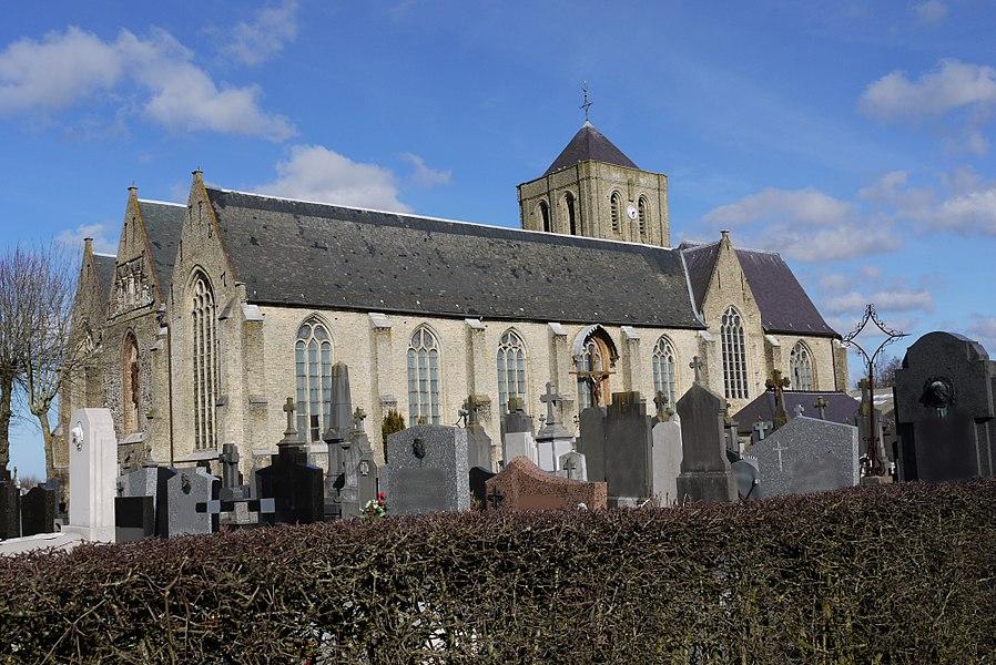 Église Saint-Omer de Quaëdypre (Nord, France)