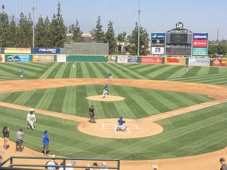 LoanMart Field - Rancho Cucamonga Quakes vs Modesto Nuts at LoneMart Field on September 5, 2016