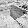 Quasileh, archeologisch onderzoek Ontgraven resten van een wijnpers, Bestanddeelnr 255-3792.jpg
