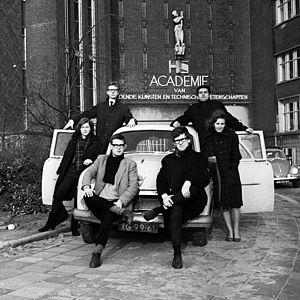 Willem de Kooning Academy - Academie van Beeldende Kunsten en Technische Wetenschappen, ca. 1965.