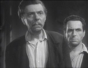 Aldo Silvani - Aldo Silvani, left, and Guido Celano in the film Four Steps in the Clouds (1942)