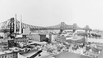 Queensboro Bridge - Bridge circa 1908