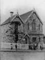 Queensland State Archives 2969 Normal School building on the corner of Edward and Adelaide Streets Brisbane c 1896.png