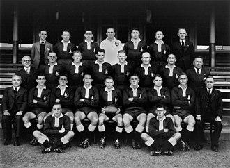 Queensland rugby league team - 1949 Queensland side – captain Bill Tyquin