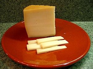 Cuña de queso Idiazábal