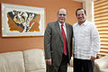 Quito, Canciller Patiño se reunió con el Secretario del ALBA (10430303836).jpg