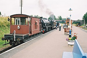 Quorn and Woodhouse railway station - Image: Quorn and woodhouse