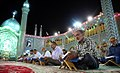 Qur'an reading, Hilal ibn Ali Mosque, Ramadan 1438 AH 08.jpg