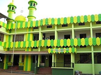 Madrasa - Quvvathul Islam Senior Madrassa, Taliparamba, India.