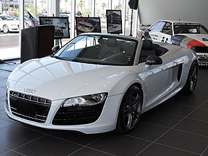 Upcoming 2011 Audi R8 Spyder as debuted in Las...