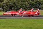 RAF Red Arrows at Prestwick Airport (29476348480).jpg