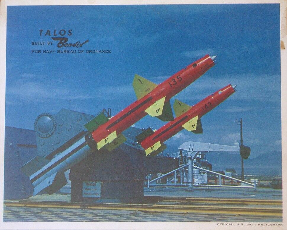 RIM-8 Talos US Official Photograph