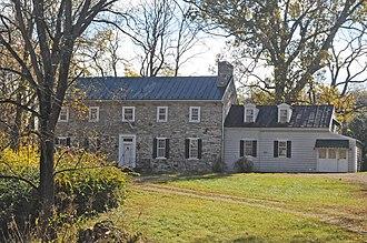 River House (Virginia) - Image: RIVER HOUSE, MILLWOOD, CLARKE COUNTY, VA