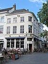 foto van Hoekpand Veemarktstraat, met gepleisterde gevels
