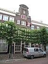 foto van Pand met monumentale halsgevel, op banderolle gedateerd: 1696
