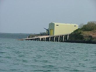 Angle Lifeboat Station - RNLI Lifeboat house, Angle