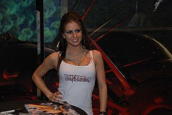 Rachel Roxxx at AVN Adult Entertainment Expo 2009.jpg