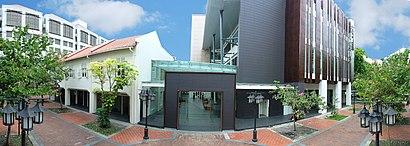 Come arrivare a Raffles Design Institute con i mezzi pubblici - Informazioni sul luogo