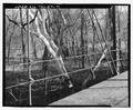 Rail, north side - Sulphur Fork Creek Bridge, Spanning Sulfur Fork Creek on Spring Road, Port Royal, Montgomery County, TN HAER TN-27-11.tif