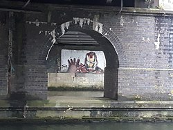 Rail bridge over the River Thames, carrying the Cherwell Valley line 07.jpg