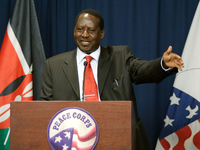 English: Raila Odinga - Prime Minister of Keny...