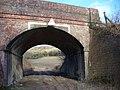 Railway Bridge Near Hackhurst Farm - geograph.org.uk - 668321.jpg