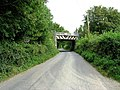 Railway Bridge across Common Lane - geograph.org.uk - 542778.jpg