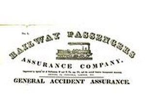 Disability insurance - The Railway Passengers Assurance Company was founded in 1848 as the first company to provide accident insurance.