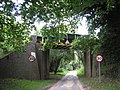 Railway bridge as you enter Antingham - geograph.org.uk - 509964.jpg