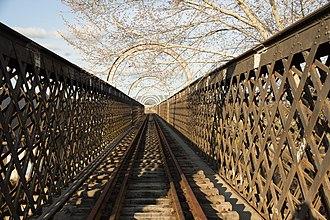 John Whitton - Image: Railway bridge over the Macquarie River, Bathurst 1