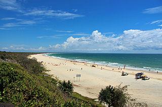 Rainbow Beach, Queensland Town in Queensland, Australia