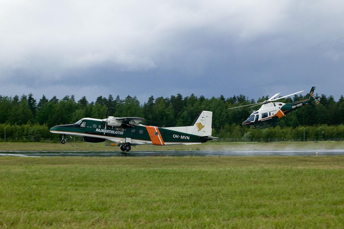 Rajavartiolaitos, Dornier Do 228 and Agusta A119 Koala.jpg