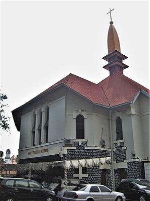 Roman Catholic Archdiocese of Semarang - The cathedral at Randusari
