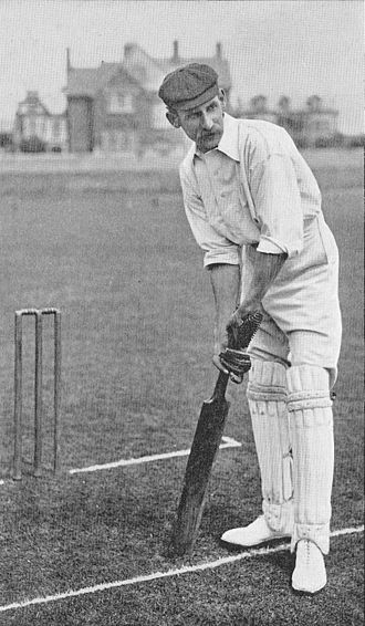 Derbyshire County Cricket Club in 1888 - Wiliam Chatterton - captain