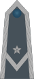 Rank insignia of młodszy chorąży of the Air Force of Poland.svg