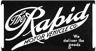 Rapid Motor Vehicle Company - Image: Rapid motor vehicle 1906