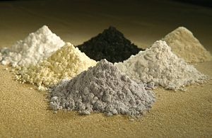 These rare-earth oxides are used as tracers to...