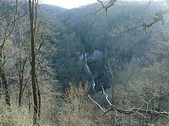 Raven Cliff Falls (South Carolina) - Image: Raven Cliff Falls