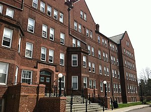 Raymond House (Vassar College) - Raymond pictured in 2013