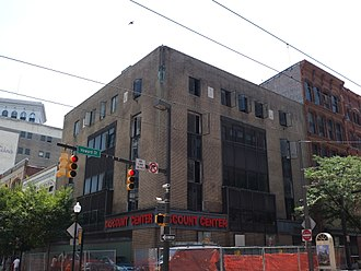 Read's Drug Store - Read's Drug Store building in Baltimore; site of 1955 desegregation sit-in